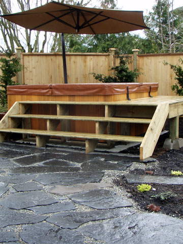 Wooden Structures in Landscaping Mission, Maple Ridge, Coquitlam, Abbotsford and Langley BC